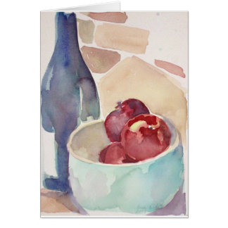 Apples and Wine Card