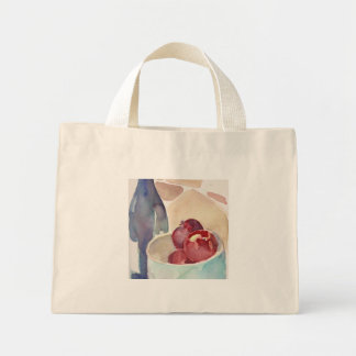 Apples and Wine_ Mini Tote Bag