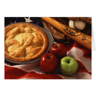 Apples, Apple Pie, and Americana Card