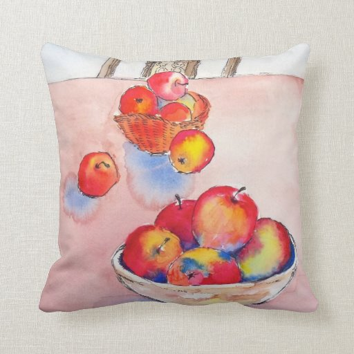 APPLES, APPLES  2 THROW PILLOW