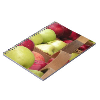 Apples at Market - Red Golden Delicious Notebook
