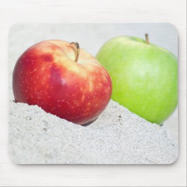 anakondasp apples at sand mouse pad