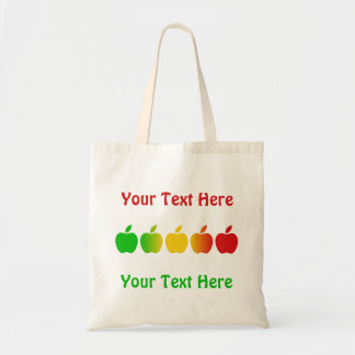 Apples bag - customizable, choose style & color
