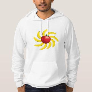 Apples Bananas Hooded Pullover