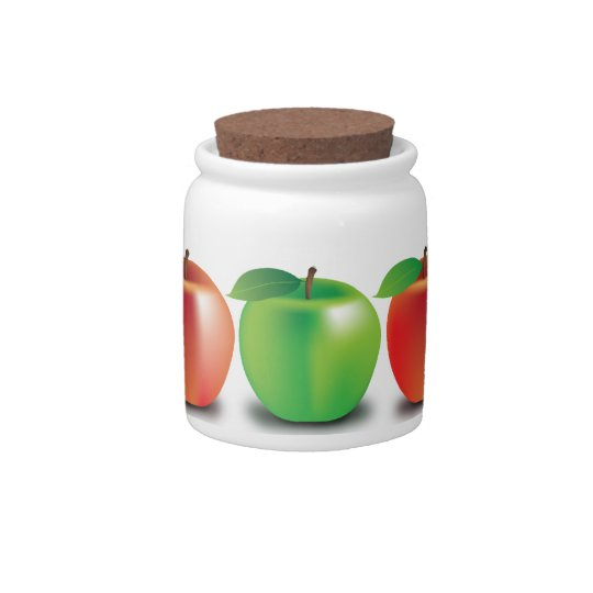 Apples Candy Dishes