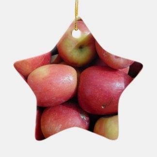 Apples Ceramic Ornament