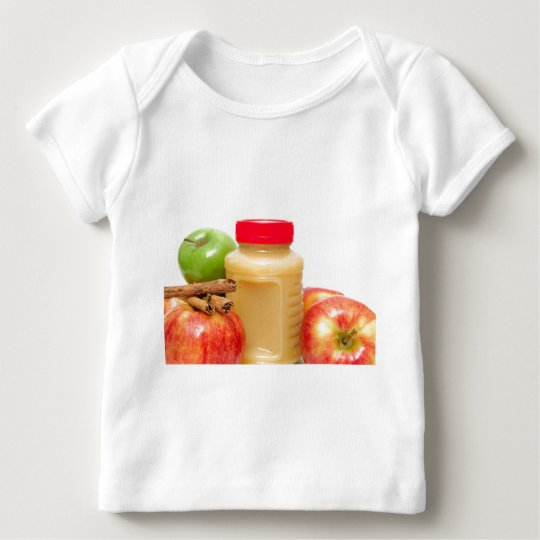 Apples Cinnamon And Applesauce Baby T-Shirt