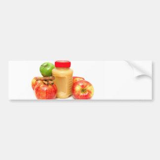 Apples Cinnamon And Applesauce Bumper Sticker