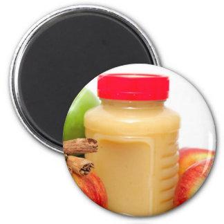 Apples Cinnamon And Applesauce Magnet