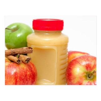 Apples Cinnamon And Applesauce Postcard