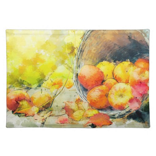 Apples Cloth Placemat