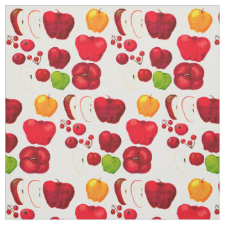 Apples & Cranberries fabric