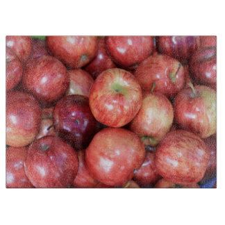 Apples Cutting Board