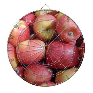 Apples Dartboard With Darts