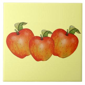 Apples Decorative Accent Tile or Trivet