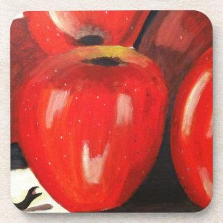 Apples Drink Coaster