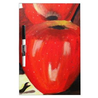 Apples Dry-Erase Board