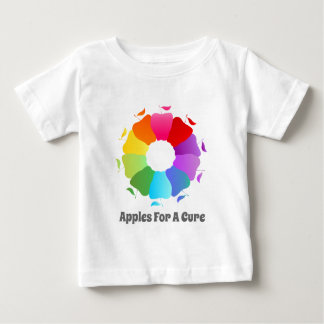 Apples For A Cure - Circle of Awareness Baby T-Shirt