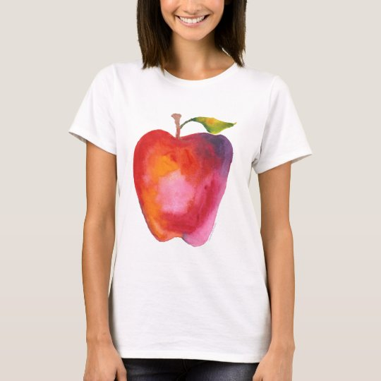 Apples For A Cure - Red T-Shirt