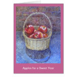 Apples for a Sweet Year Greeting Card