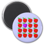Apples for Diversity Tshirts and Products Refrigerator Magnet