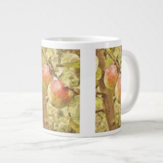 APPLES GIANT COFFEE MUG