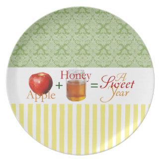 Apples & Honey Rosh Hashana Plate