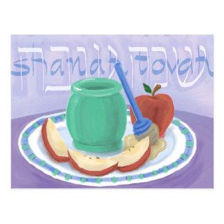 Apples & Honey Rosh Hashanah Card