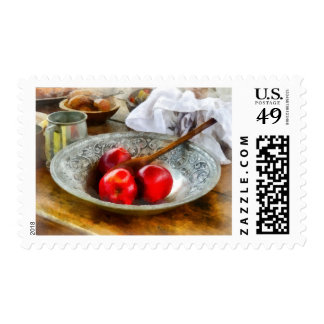 Apples in a Silver Bowl Postage