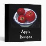 Apples In Bowl : Pastel Art: Recipes: Binder.