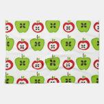 Apples.jpg rojo y verde toalla de cocina