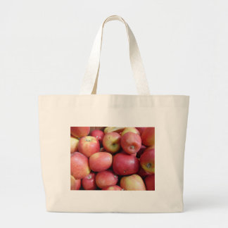 Apples Large Tote Bag