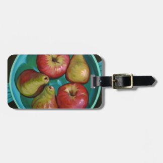 Apples Luggage Tag
