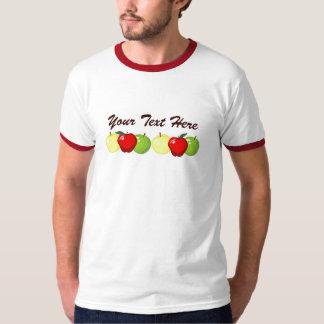 Apples Mens Ringer T-shirt