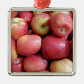 Apples Metal Ornament
