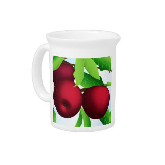 """Apples on a Branch"" Beverage Pitchers"