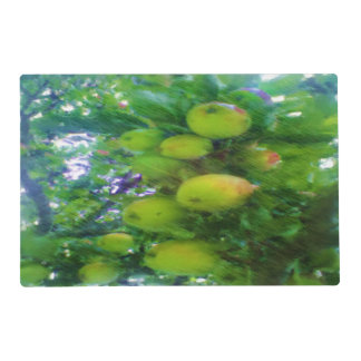 Apples on a tree placemat
