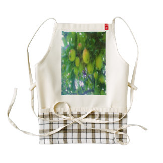 Apples on a tree zazzle HEART apron
