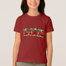 Apples on Gingham T-Shirt