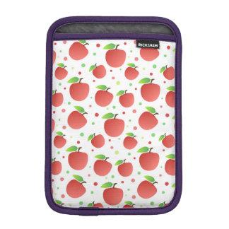 Apples pattern sleeve for iPad mini