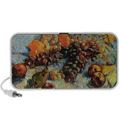 Apples, Pears, Lemons and Grapes- Vincent van Gogh Mp3 Speaker
