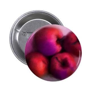 apples! pinback button