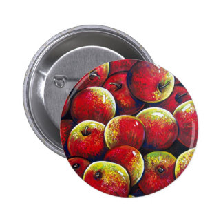 apples pinback buttons