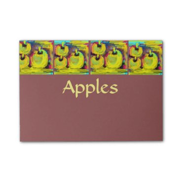 __apples__boutique_ Apples Post-it Notes