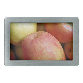 Apples Rectangular Belt Buckle