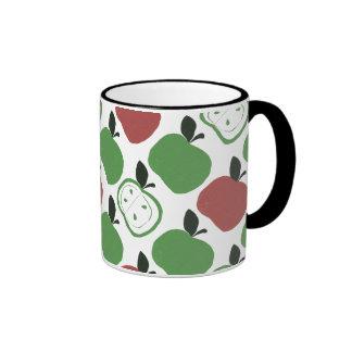 Apples Ringer Mug