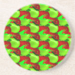 Apples Swatch Drink Coaster