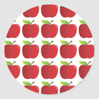 Apples to Apples Classic Round Sticker