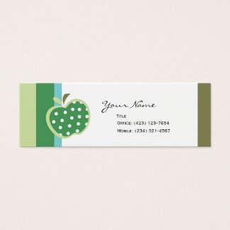 Apples to Apples Mini Business Card
