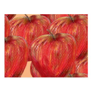 Apples to Apples Pattern Post Cards